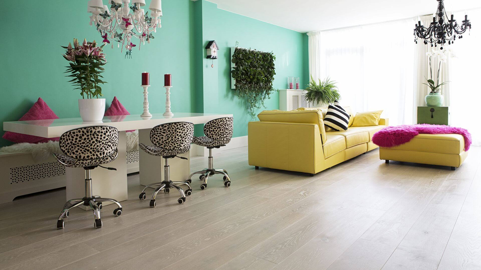 houten vloer parel wit pearl white wood flooring