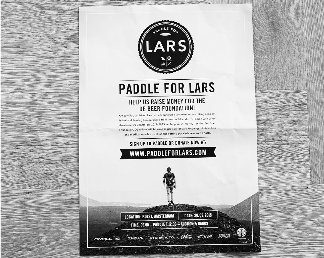 paddle for lars x