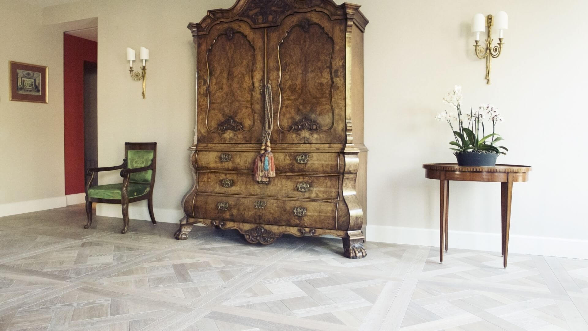 versailles pattern wood flooring